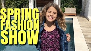 Spring Clothing Haul & Justice Fashion Show