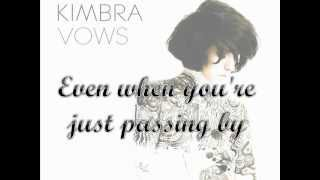 Kimbra- Something In The Way You Are Lyric Video