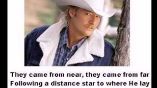 Allison Krauss and Alan Jackson sing The Angels Cried -With Lyrics-
