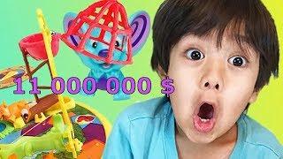 Этот 6-летний мальчик заработал 11000000 долларов за год и теперь он на 8 строчке форбс