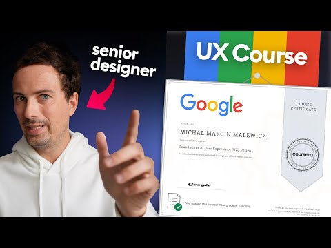 Google UX Course Review by a Senior Designer - YouTube