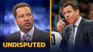 Chris Broussard analyzes the Lakers and says Luke Walton is on the hot seat | NBA | UNDISPUTED