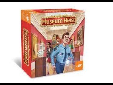 Boardgame Night ; We play Museum Heist
