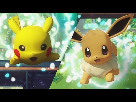 Pokémon: Let's Go, Pikachu! and Pokémon: Let's Go, Eevee! Trailer thumbnail