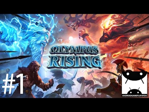 Olympus Rising Android GamePlay #1 (By flaregames)