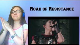 Reacting to BABYMETAL  Road of Resistance - Live in Japan