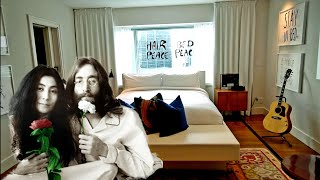 #897 Inside JOHN LENNON's 'Give Peace A Chance' Hotel Suite MONTREAL Yoko Ono 'BED-IN' (1/20/19)