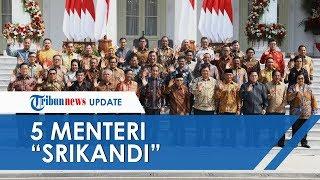 Resmi Dilantik, Jokowi-Ma'ruf Amin Dibantu 5 Menteri 'Srikandi' pada Kabinet Indonesia Maju