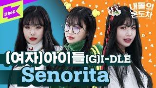 GAP CRUSH(내돌의 온도차): (G)I DLE((여자)아이들) _ Senorita(세뇨리따)