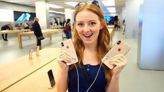 VLOG: iPhone XS! УПАКУЙТЕ ДВА! 11.10.18