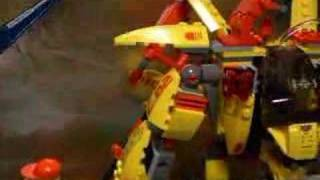 Lego Mech Factory Stop Motion Exoforce
