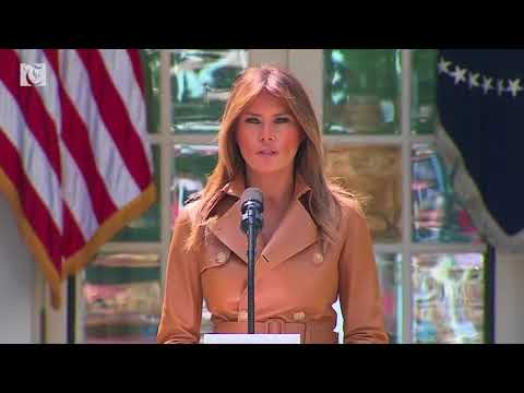 First Lady announces