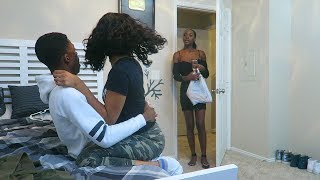 CHEATING ON GIRLFRIEND PRANK GONE WRONG!!! **GETS VIOLENT & STARTS CRYING**