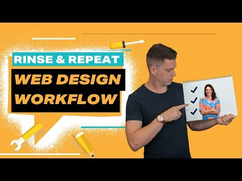 Creating a Rinse & Repeat Web Design Workflow - Ep 15 - Silence is Golden