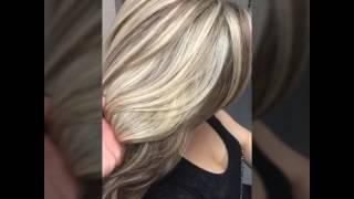 Blonde And Dark Blonde Highlights
