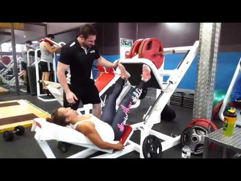 High Intensity Leg Session with PT Jullian Wood