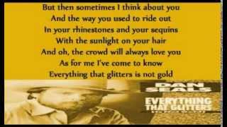 Dan Seals - Everything That Glitters (acoustic)