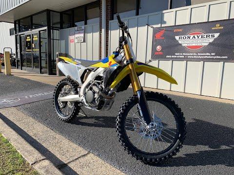 2019 Suzuki RM-Z250 in Greenville, North Carolina - Video 1