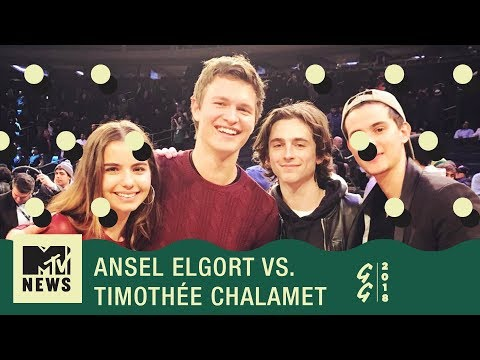 Was Ansel Elgort More Popular Than Timothée Chalamet In High School? | Golden Globes 2018