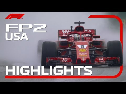 2018 US Grand Prix: FP2 Highlights