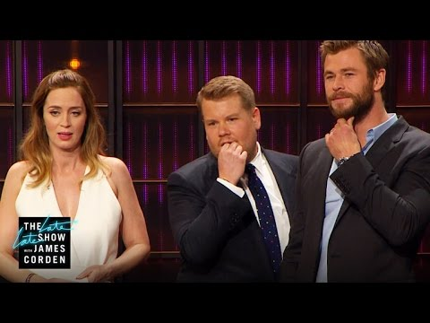 Cell Phone Profile w/ Charlize Theron, Emily Blunt, Chris Hemsworth & Jessica Chastain