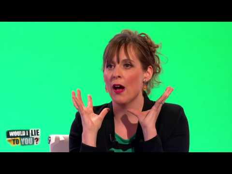 Mel Giedroyc olízla dort Davida Bowieho - Would I Lie to You?