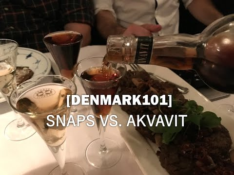 Denmark 101 - Danish Snaps vs Akvavit: What's the Difference?  - Ep. 52