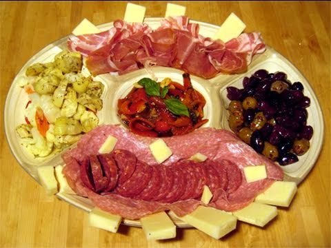Antipasto Platter How To/Recipe Video - Laura Vitale