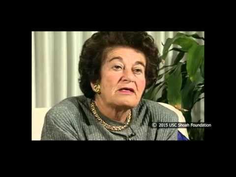 La sobreviviente del Holocausto Gerda Klein relata sobre el trabajo en el telar en el campo de Grünberg