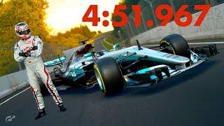 GT Sport - Mercedes F1 Nordschleife - 4:51.967 // World Record