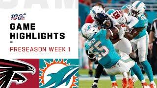Falcons vs. Dolphins Preseason Week 1 Highlights   NFL 2019
