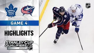 NHL Highlights | Maple Leafs @ Blue Jackets GM4 - Aug. 7, 2020