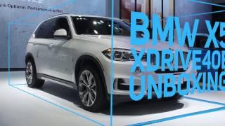 Unboxing 2017 BMW X5 xDrive40e iPerformance