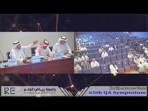 65th QA Symposium