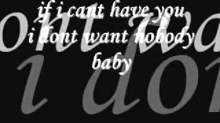 Adam Lambert If I Cant Have You- lyrics