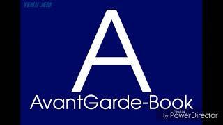 Alphabet Of Font VI
