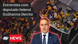 Estamos lutando por democracia, diz deputado Guilherme Derrite
