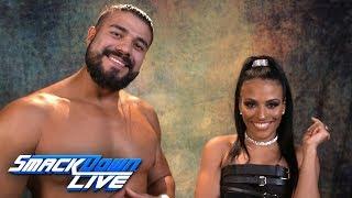 Andrade & Zelina Vega challenge Becky Lynch & Seth Rollins: WWE Exclusive, July 3, 2019