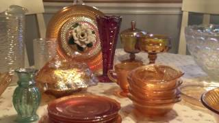 Carnival Glass Haul...Goodwill & Thrift Stores ...for Ebay Resale