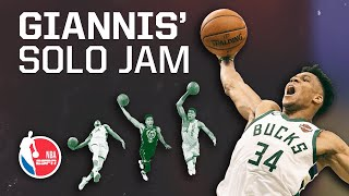 Why Giannis Antetokounmpo's unassisted dunks make him a new-age Shaq | Signature Shots