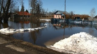 Из зон подтопления в Пензенской области эвакуировано 70 человек
