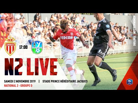 N2 : AS Monaco - Moulins Yzeure