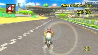 【MKW WR】 Luigi Circuit - 01:08.947 - Cole
