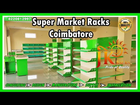 Super Market Storage Shelves