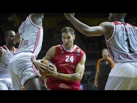Highlights: RS Round 6, Strasbourg 78-75 Crvena Zvezda Telekom Belgrade