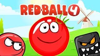 RED BALL 4 КРАСНЫЙ ШАРИК Часть 5 ЗЕЛЕНЫЕ ХОЛМЫ прохождение ВИДЕО ДЛЯ ДЕТЕЙ  как мультик kids games