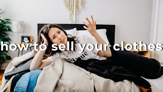 HOW TO SELL CLOTHES ONLINE & MAKE MONEY FAST 💸👗 (2020)