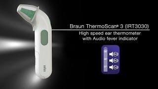 Термометр Braun IRT 3030 від компанії Інтернет-магазин EconomPokupka - відео