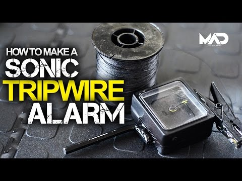 This DIY Sonic Tripwire Alarm Is A Loud, Perfect Early Warning System
