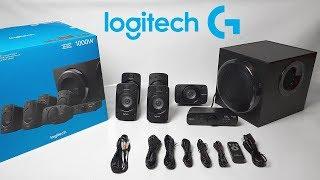Logitech Z906 5.1 Surround Sound Speaker System Unboxing